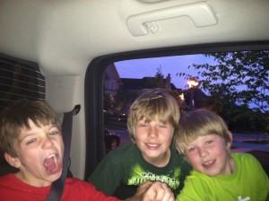 Kobe, Tyler and Eli