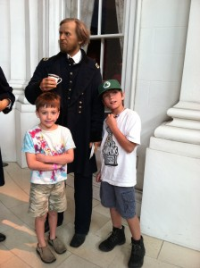General Grant, me and my brother Alex