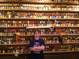 eli and hot sauce