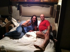 uncle andy and karen in the full time rv
