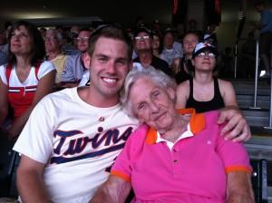 chris and gran