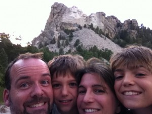 full time rving at rushmore
