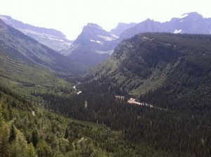 rviing glacier national park