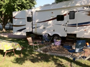 rving in mitchell, south dakota