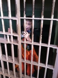 Eli rving at alcatraz
