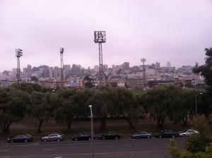 RVing baseball field