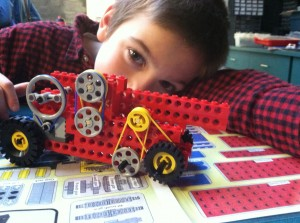 rving and legos