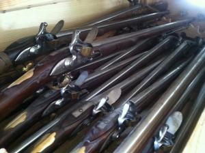 civil war guns