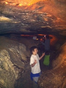 eli in mammoth cave dancing